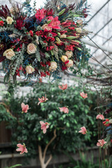 Winter Greenhouse Wedding