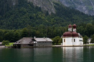 Church at Mountain Lake