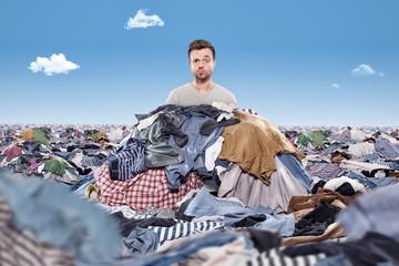 Dumm aus der Wäsche gucken