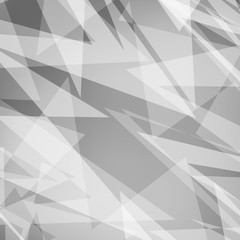 Black and White Abstract Vector Background. For design, banner.