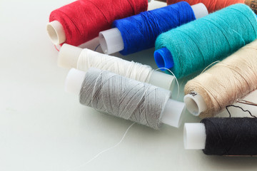 Threads on the table