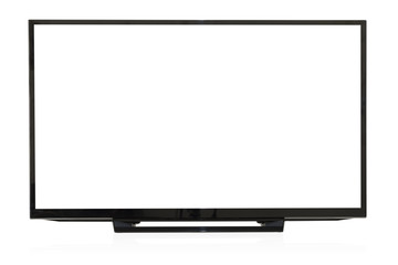 Computer monitor isolated on a white background.Clipping Path.