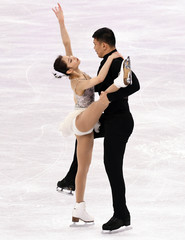Olympics: Figure Skating-Pairs Short Program