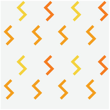 Geometric zigzag shapes seamless pattern. Design for print, fabric, textile. Seamless wallpaper