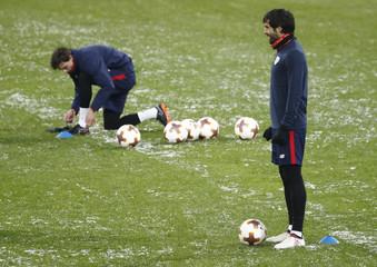 UEFA Europa League - Athletic Bilbao training