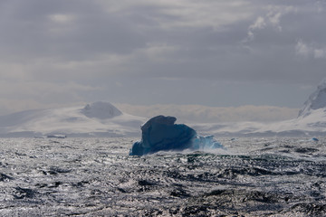Ice in Antarctic sea