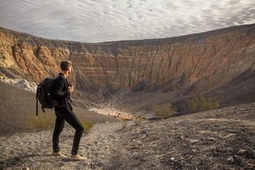 cratère de Ubehebe (death vallée)