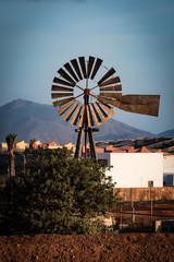 Eine Mühle