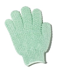 Single exfoliating glove