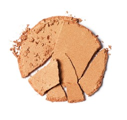 Broken beige powder foundation