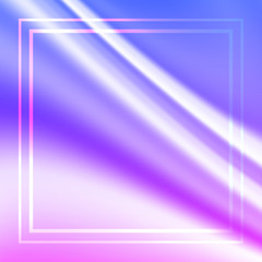 Blurry holographic background. Trendy silky glitch wallpaper. Iridescent hologram.  texture in pastel colors. Blur colorful pattern.