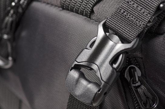 Clasp black bag backpack fittings macro