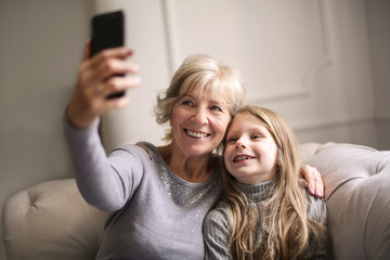 Selfie with granny