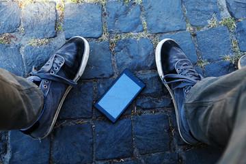 Broken smartphone incident