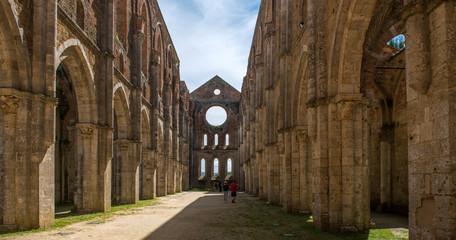 San Galgano abbey, tuscany