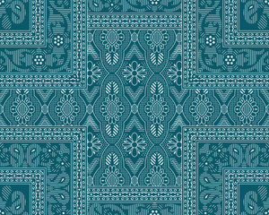 Seamless traditional indian pattern