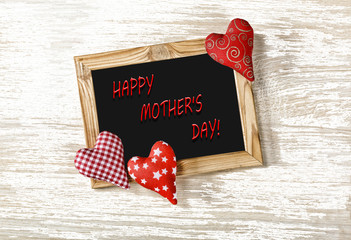 MOTHER'S DAY, hearts, congratulations, gifts, love, mom, postcar