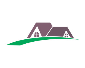 roof house housing home residence residential real estate image vector icon