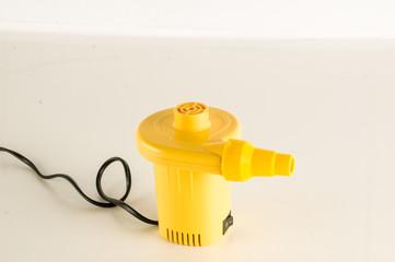 Close-up of air pump
