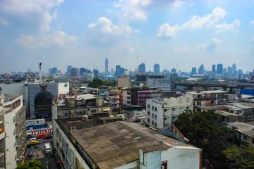 タイの都市、遠景