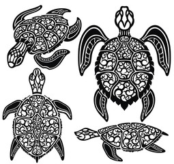 Sea turtles. Sea Animals