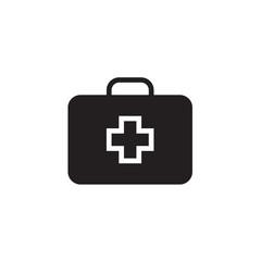 Medical box Icon Vector illustration, EPS10