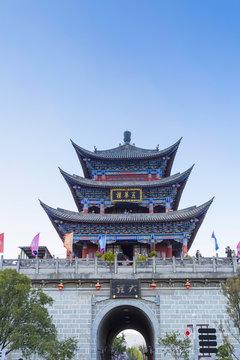 Ancient city of Dali in Yunnan