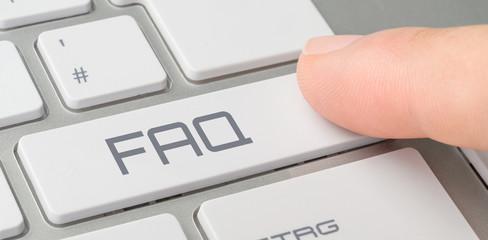 Tastatur mit beschrifteter Taste - FAQ