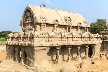 The Five Rathas, Bhima ratha, Mahabalipuram, Tamil Nadu, India
