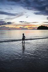 Boy at beach in Ko Lanta, Thailand