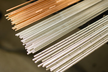 Welding Rod and Material like copper and aluminium fanned
