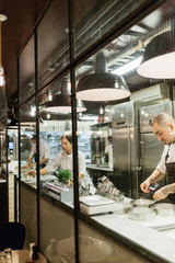 Chefs at bakery in Sweden