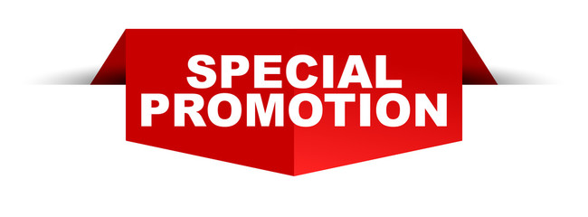banner special promotion Wall mural