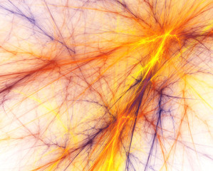 Abstract background. Fractal webs