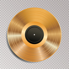 LP vinyl golden trans