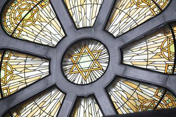 Vitrail de synagogue