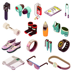 Sport Electronics Icon Set