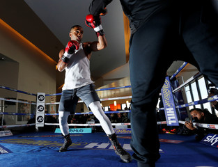 Kell Brook Public Work-Out