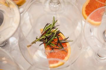 Rosemary Grapefruit.