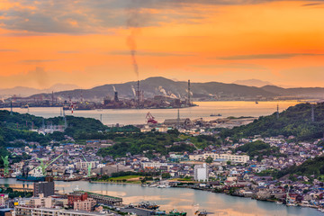 Shimonoseki, Japan Skyline