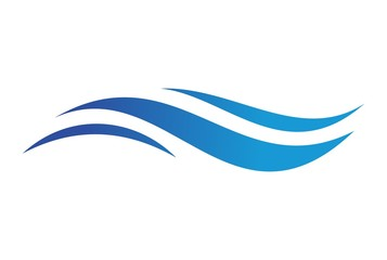 blue sea waves logo