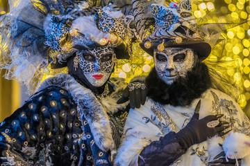 Venezia , carnevale, maschere