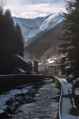 Village de Couflens en Ariège