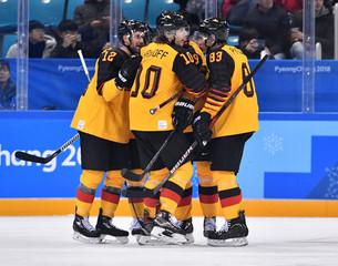 Olympics: Ice Hockey-Men Team Group C - FIN-GER