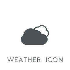weather icon. sign design