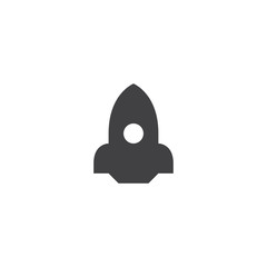 rocket icon. sign design