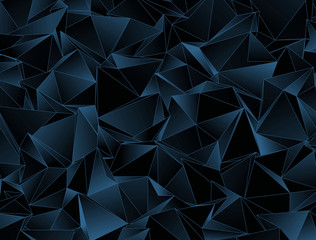 Abstract background. triangulated texture