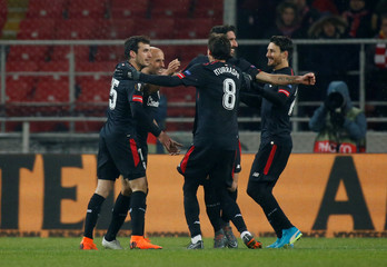 Europa League Round of 32 First Leg - Spartak Moscow vs Athletic Bilbao