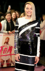 "Actor Margot Robbie arrives for the UK premiere of ""I,Tonya"" in London"