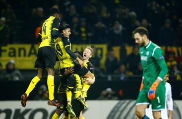 Europa League Round of 32 First Leg - Borussia Dortmund vs Atalanta
